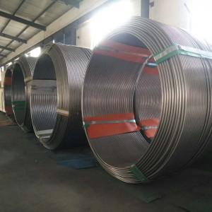 ASTM合金625ステンレススチールコイル管コイルチューブ中国工場