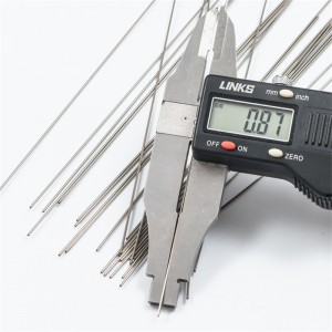 ASTM A269 tiwb caboli 304 dur di-staen