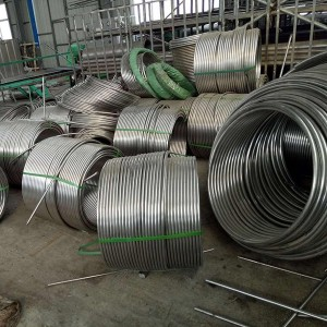 904LStainless steel coiled tubes