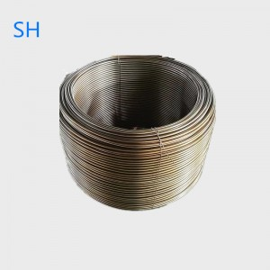 ASTM A269 alloy2205 stainless نديم coiled نلڪين