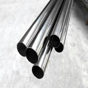 ASTM A269 tiwb caboli 201 dur di-staen
