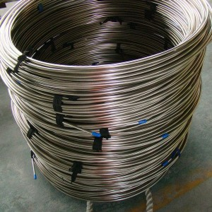 ASTM alloy2205 6.351.24 stainless steel coiled tubing