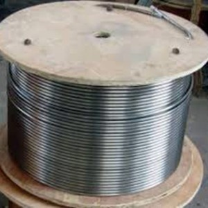ASTM alloy 2507 Seamless Stainless Steel Coil Tubing Coiled Tubes