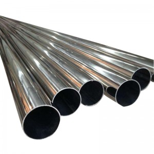 EN 1.4401 316  stainless steel polishing tube